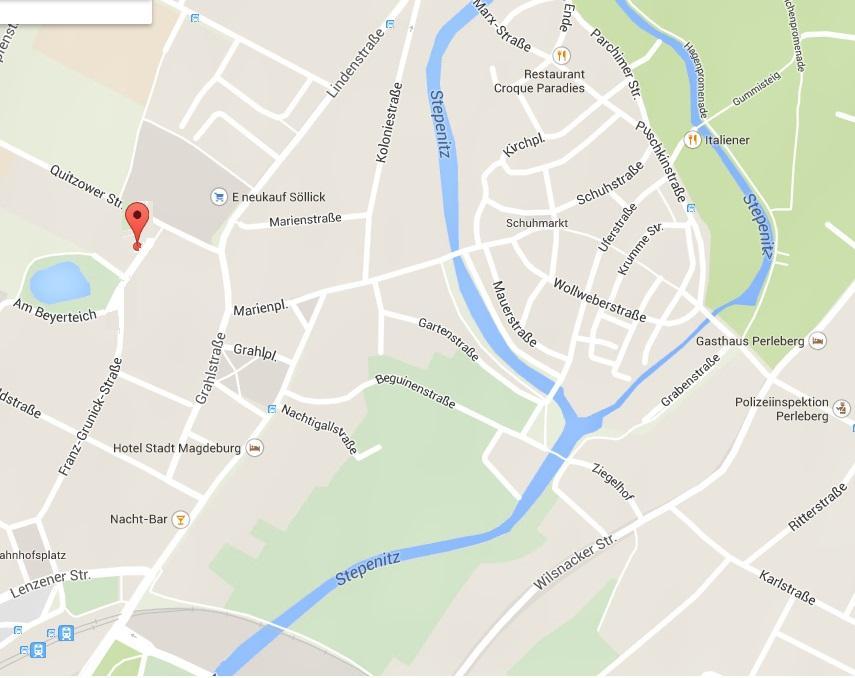 Maps Franz-Grunick-Straße 25