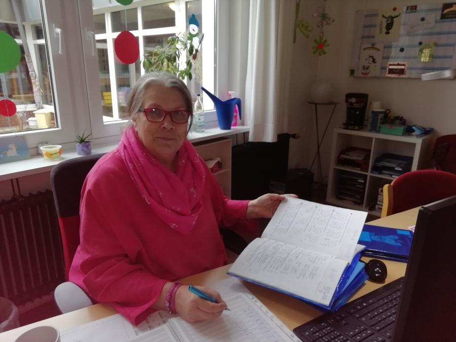 Unsere Konrektorin Margret Striepke