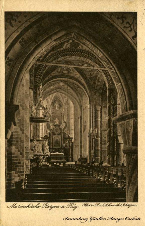 Marienkirche Bergen a. Rüg.