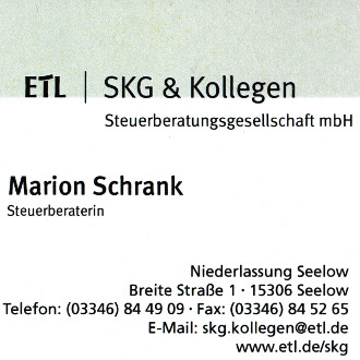 Marion Schrank Steuerberatung