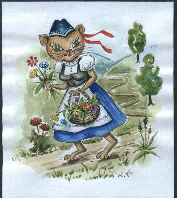 """Kräutermieze """"Flori"""""""