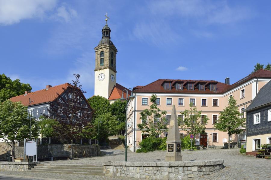 Marktplatz Sohland a.d. Spree