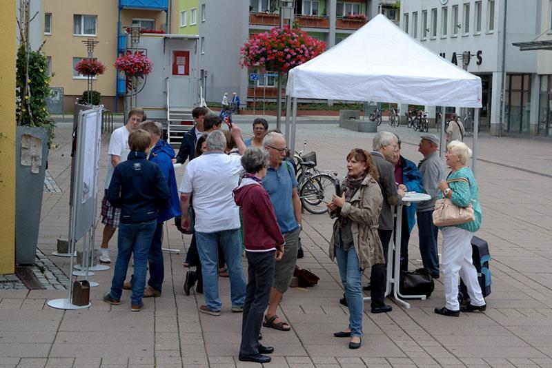 Neugestaltung Marktplatz Infoveranstaltung