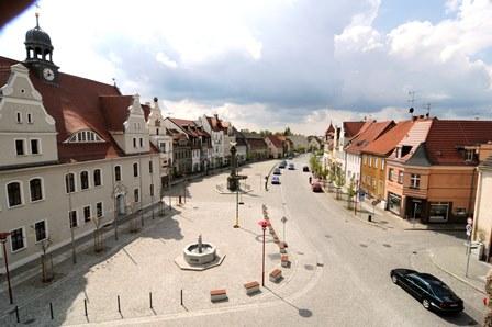 Marktplatz im Stadteil Kirchhain