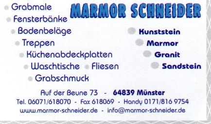 Marmor Schneider