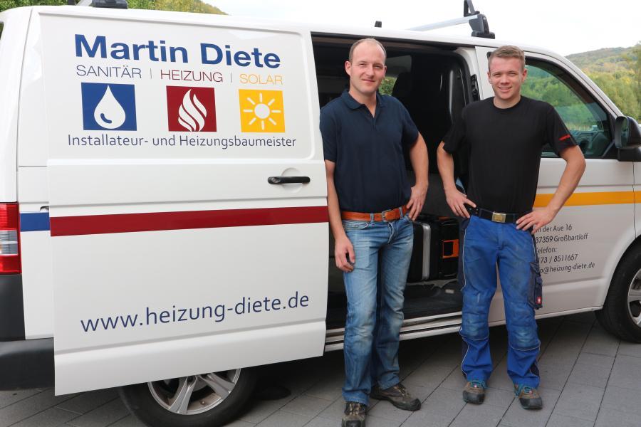 Marti Diete und Simon König