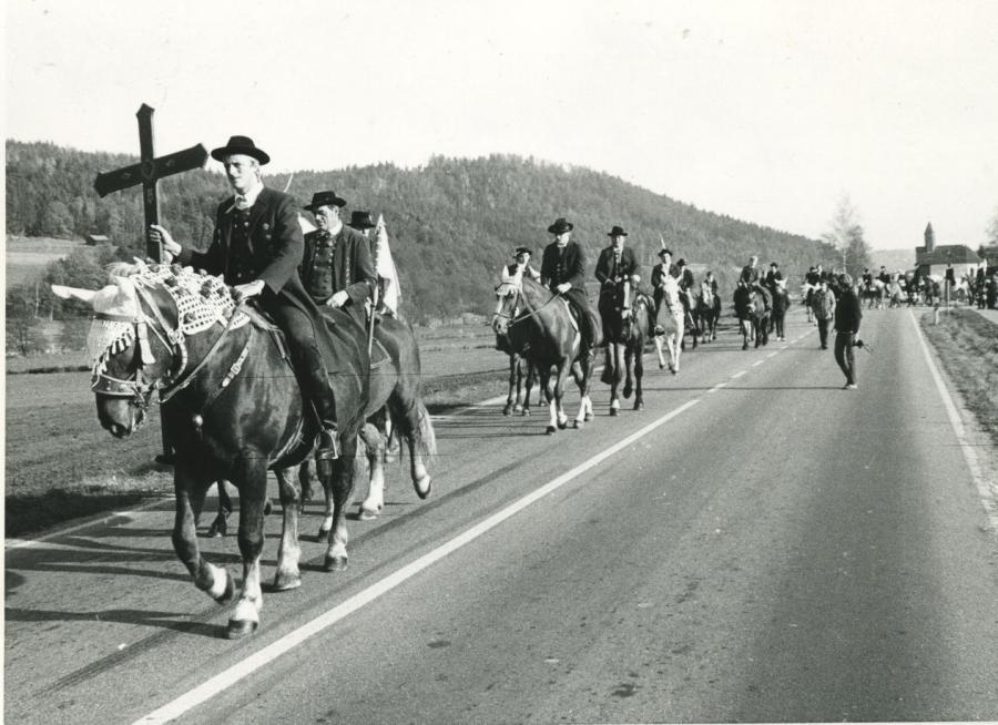 Martiniritt Kreuzträger 1983