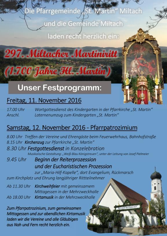 Martiniritt 2016