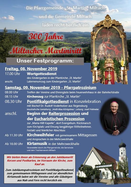 Martiniritt Miltach 2019