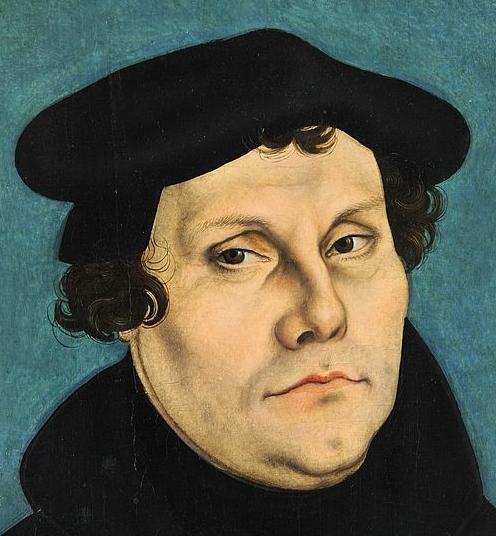 Martin Luther, Gemälde von Lucas Cranach d.Ä