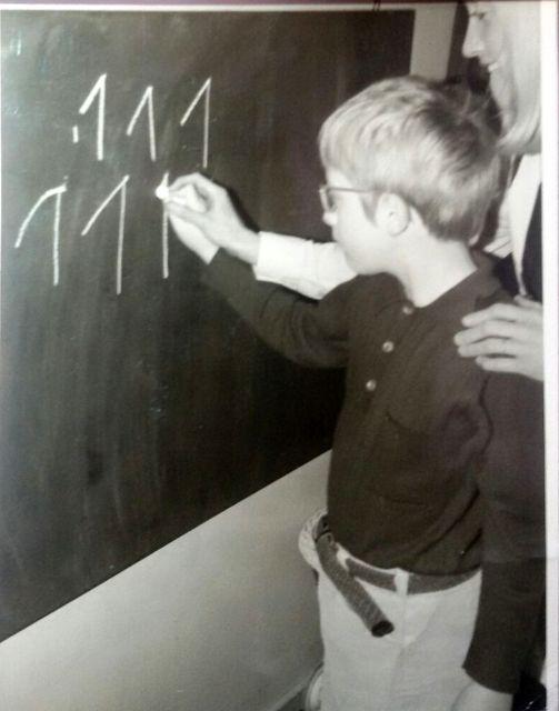mathe frueher