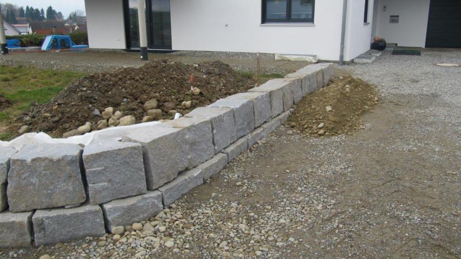 mauersteine bayerwald granit. Black Bedroom Furniture Sets. Home Design Ideas