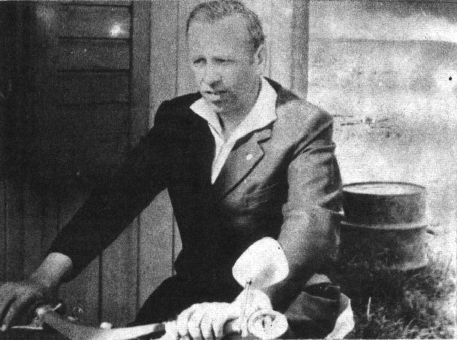 LPG-Vorsitzender Herbert Tucholke