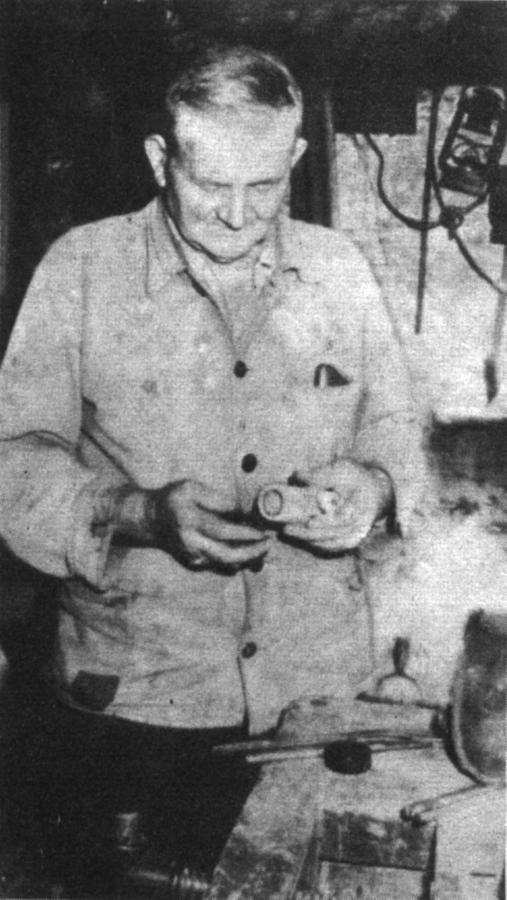 Klempner Gustav Ladwig