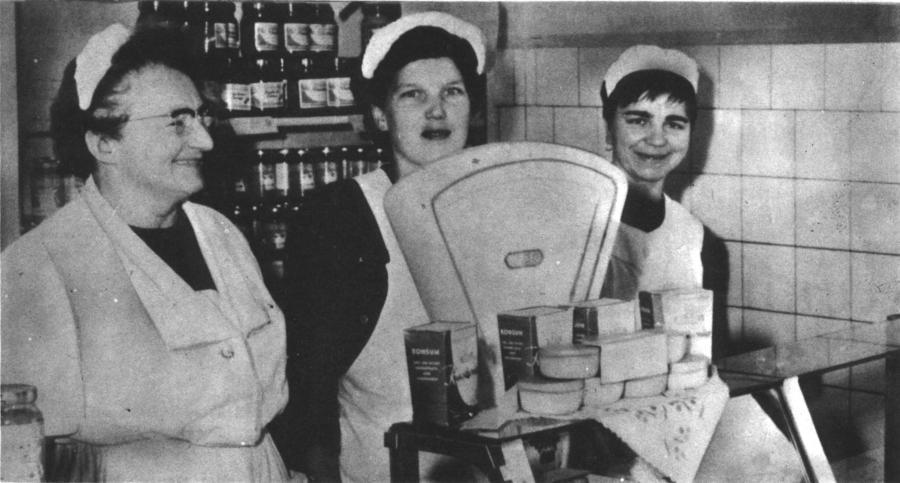 Von l.n.r.: Frau Maeting, Frau Griebahn und Frau Wright