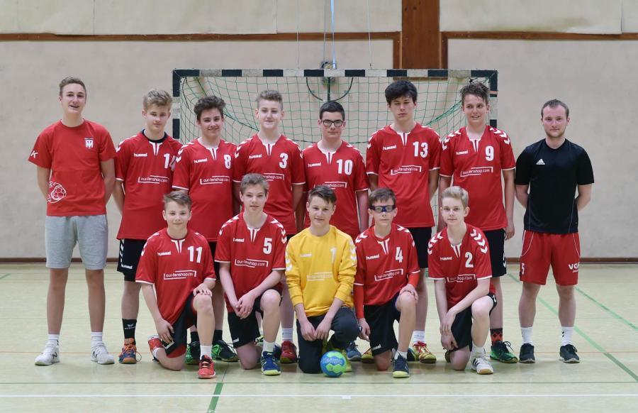 Mannschaftsbild der MC-Jugend (Relegation 2017)