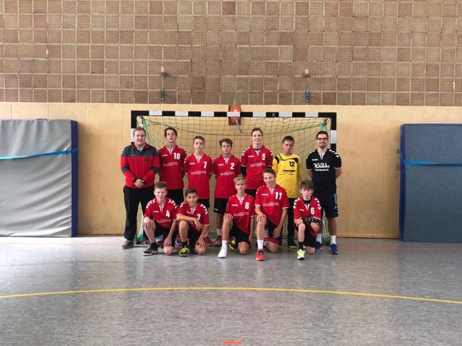 Mannschaftsfoto der MC-Jugend (Saison 2018/19)