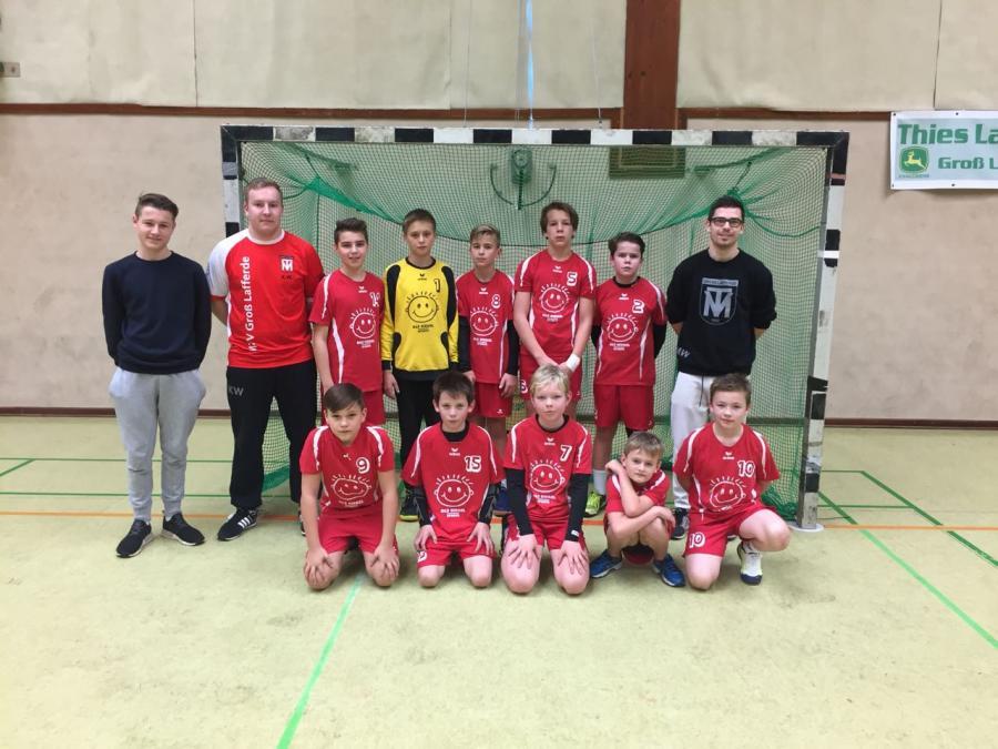 Mannschaftsfoto der MD-Jugend (Saison 2017/18)