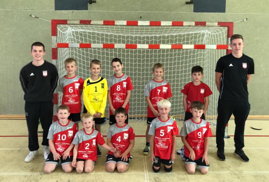 Mannschaftsfoto der ME-Jugend (Saison 2019/2020)