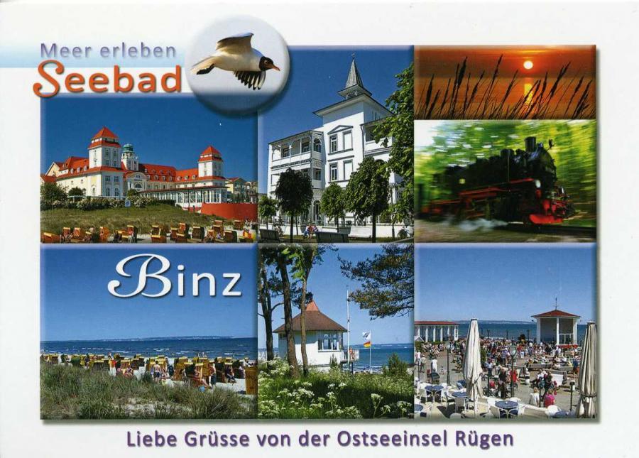 Meer erleben Seebad Binz
