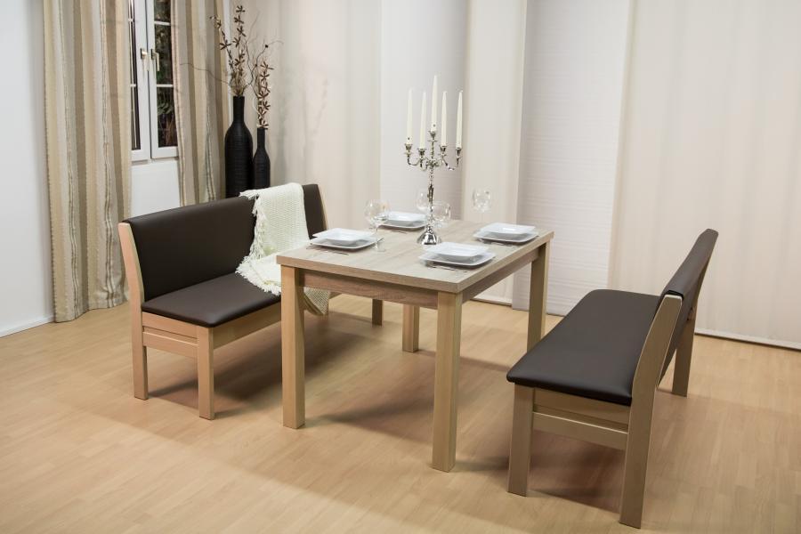 Bank Ilmenau und Tisch Melamy