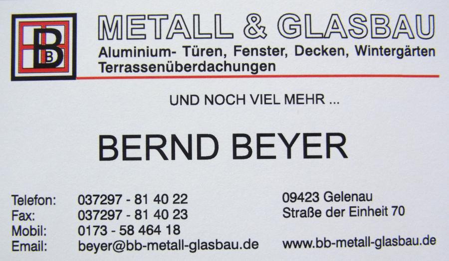 Metall- und Glasbau Bernd Beyer