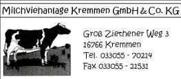 Milchviehanlage-Kremmen