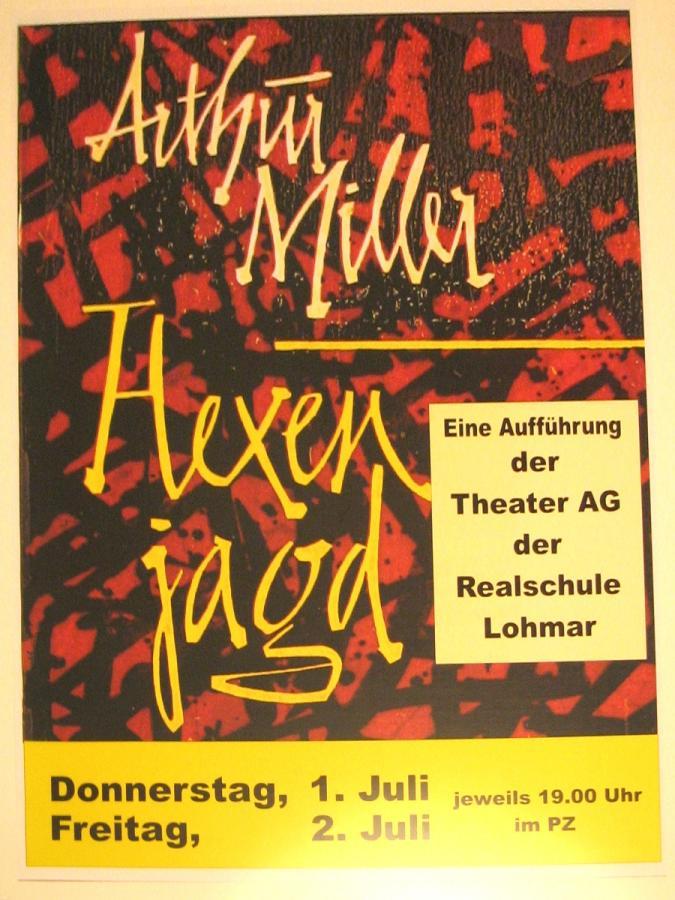 Arthur Miller, Hexenjagd
