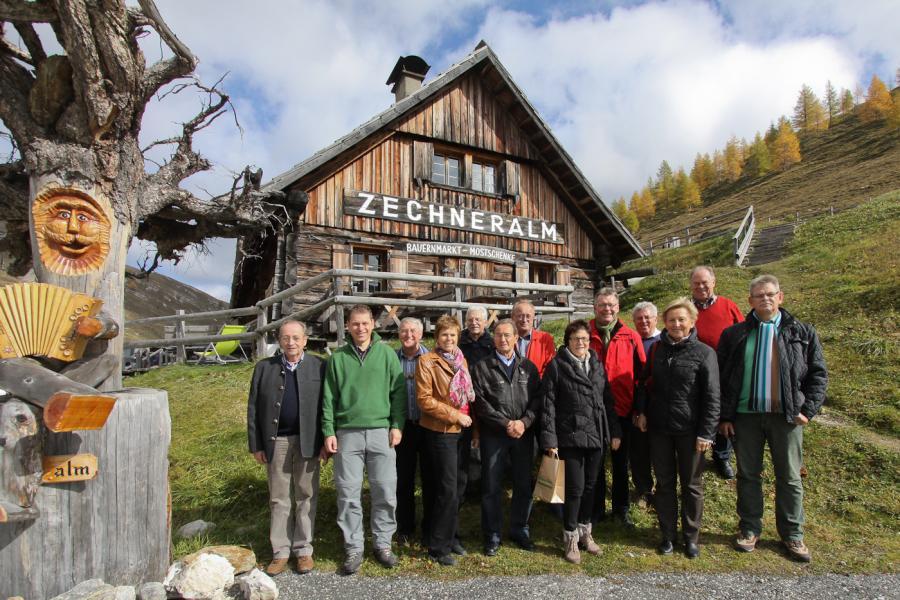 Die Mitglieder des Partnerschaftskomitees 2012