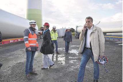 Umweltminister Wenzel