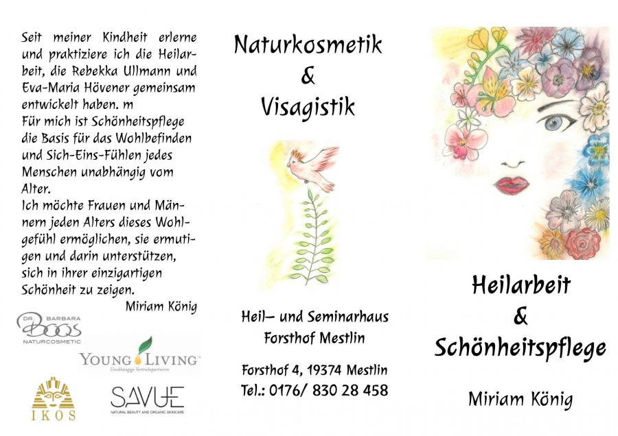 Heilarbeit und Schönheitspflege