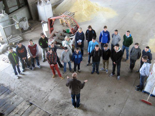 Einblicke in einen Landtechnikbetrieb