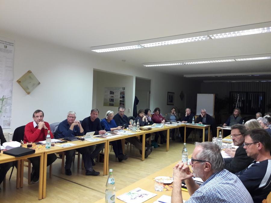 Mitgliederversammlung LAG Flechtinger Höhenzug, 5.11.2018