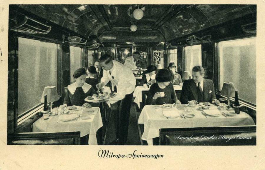 Mitropa-Speisewagen