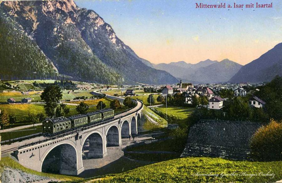 Mittenwald a. Isar mit Isartal