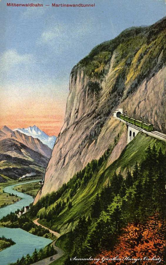 Mittenwaldbahn - Martinswandtunnel