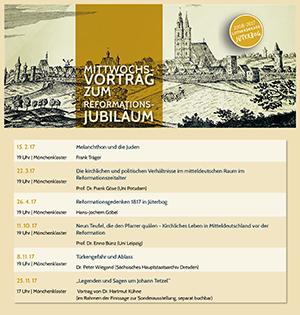 Mitwochsvorträge zur Reformation in Jüterbog