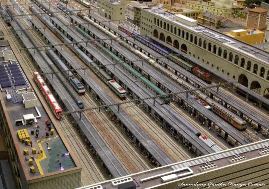 Modelleisenbahn Bahnhof Roma Termini