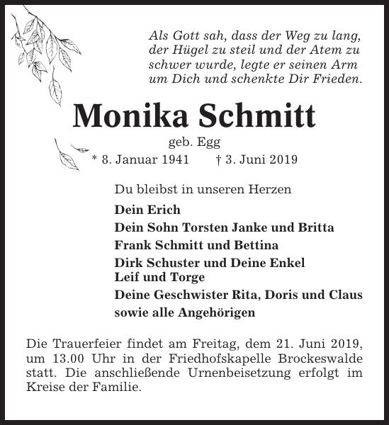 Monikas Schmitt