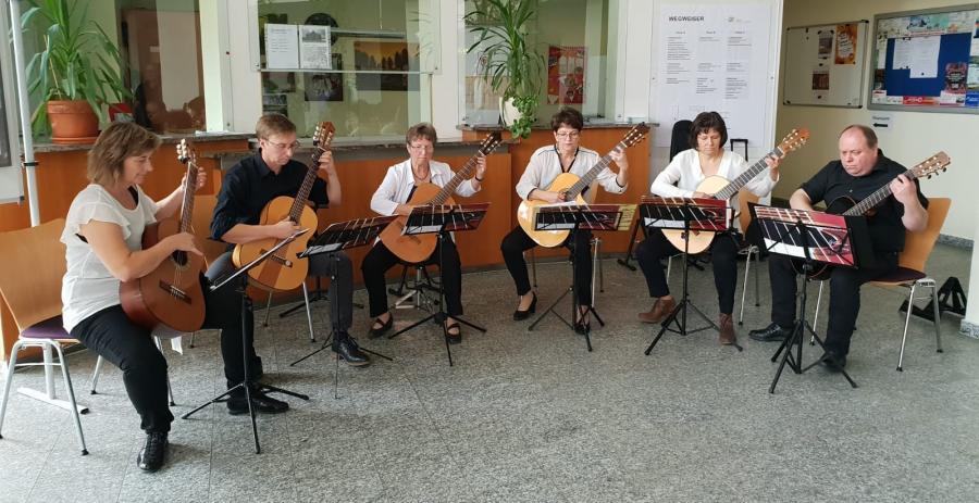 Mosaic Guitars Ludwigslust, Foto: Zantow