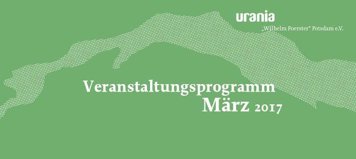 Monatsprogramm März 2017