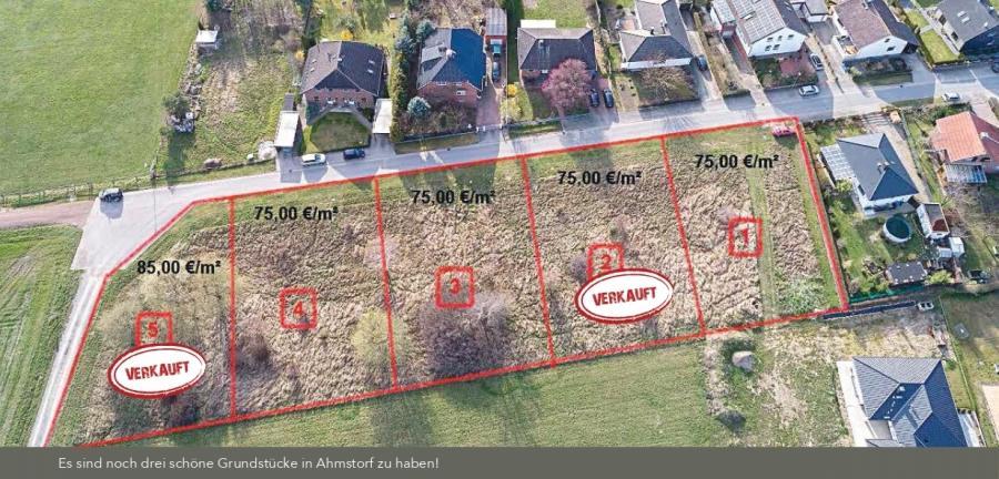 Lageplan_Grundstück 2 und 5 verkauft