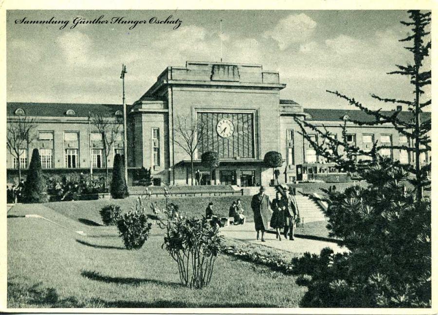 """Mühlhausen Der Hauptbahnhof """"Tor zu den Hoch-Vogesen """""""
