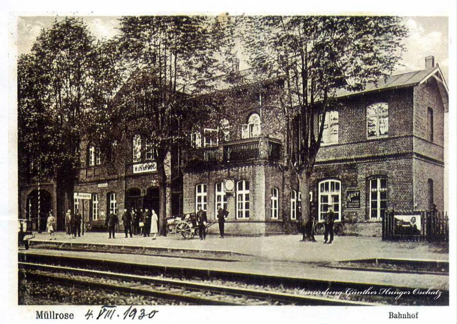Müllrose Bahnhof