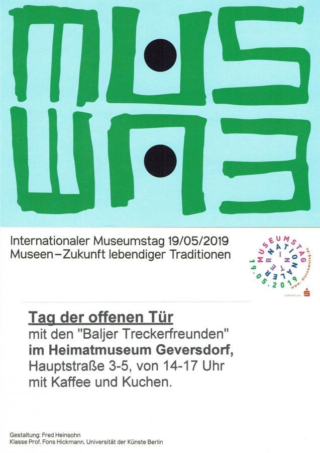 Museumstag mit den Baljer Treckerfreunden