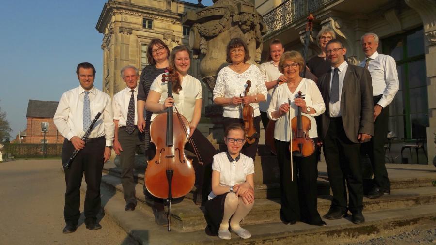 Musica Mia Musikschulorchester Ludwigslust. Foto: Sylvia Wegener