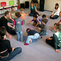 Musikalische Früherziehung - Musikkinder Unterrichtsfach an der Musikschule des Music College Hannover