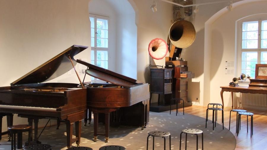 Musikmuseum Beeskow, Weber Duo-Art der Aeolian Company, (c) Musikmuseum Beeskow
