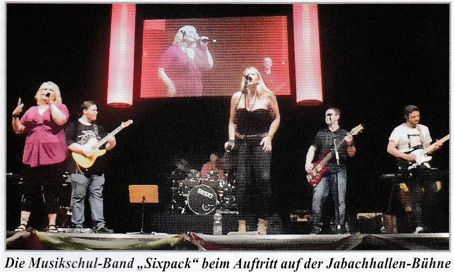 Musikschul-Band Sixpack