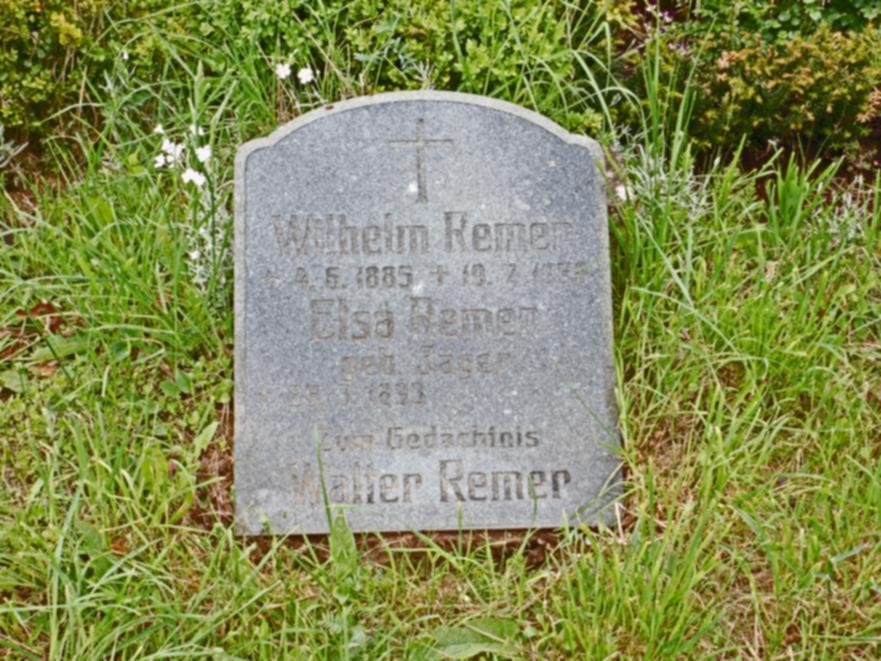 Zum Gedächtnis an Walter Remer